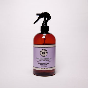Lavender Bergamot Natural Room & Linen Spray