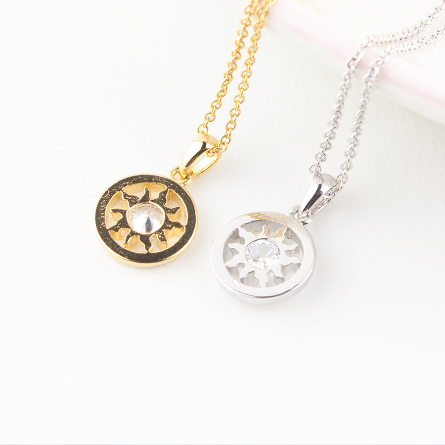 Sun Moon and All the Stars Necklace