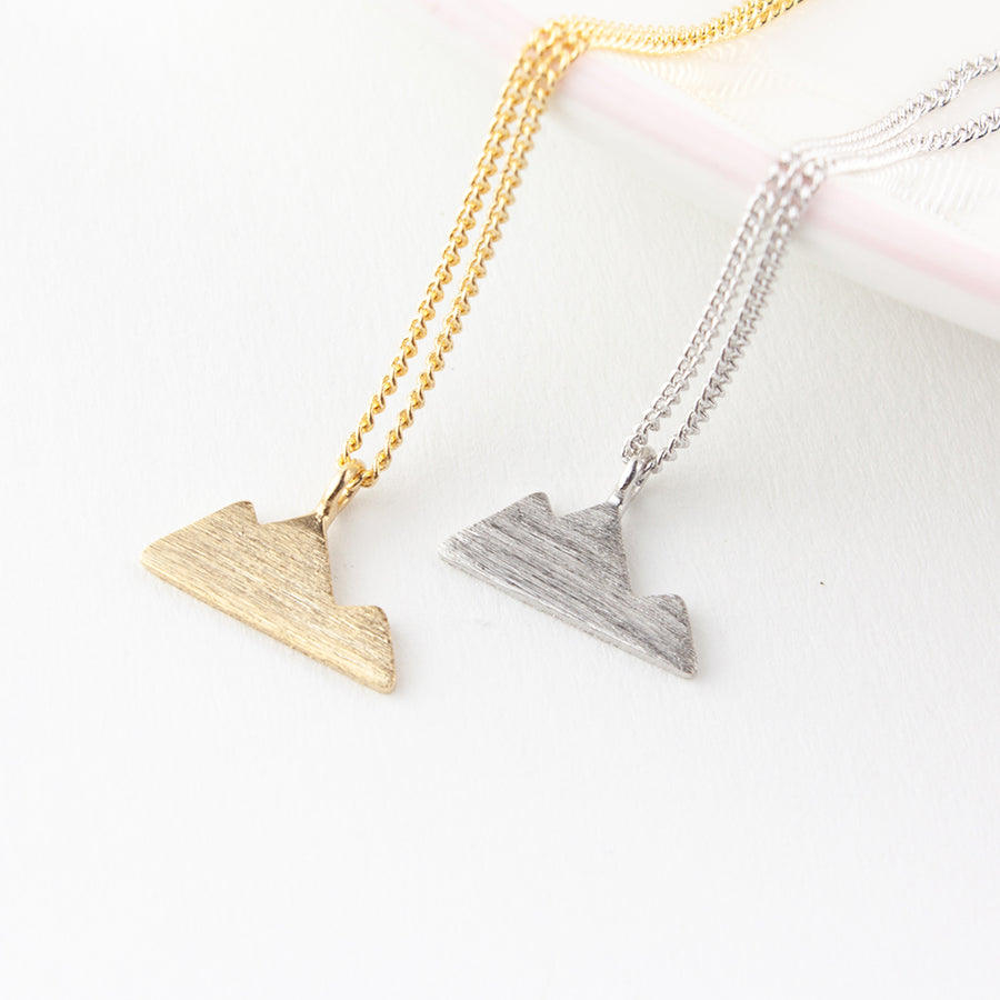 To Rocks and Mountains Necklace