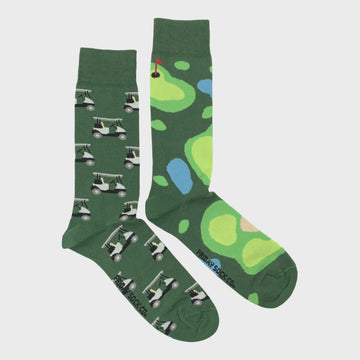 Men's Golf Green & Cart Socks