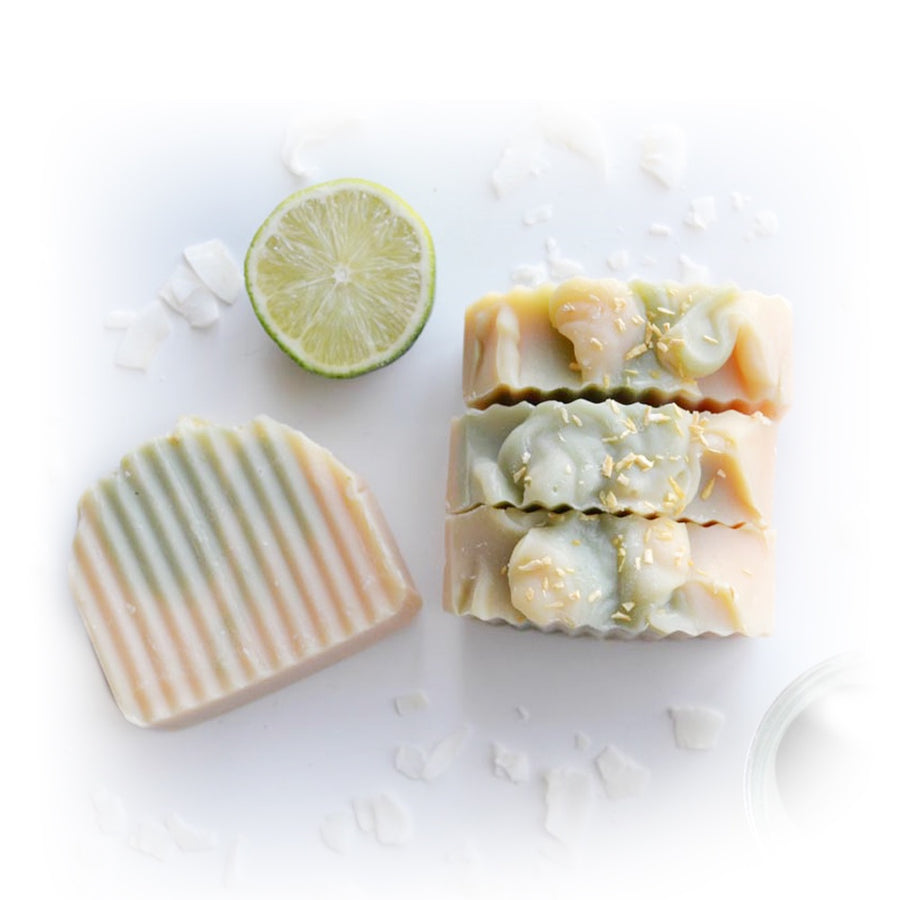 Lime Coconut Natural Soap