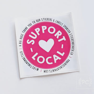 Support Local Decal