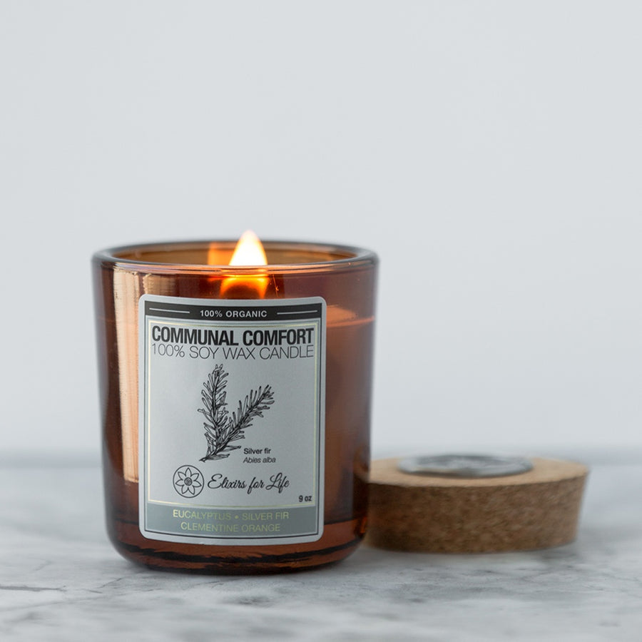 Communal Comfort Elixirs for Life Candle