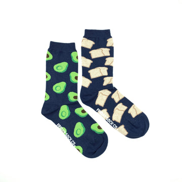 Women's Avocado & Toast Socks