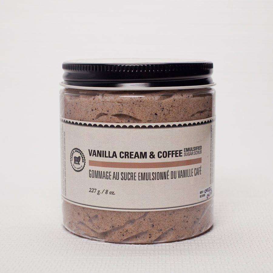 Vanilla Coffee Natural Sugar Scrub
