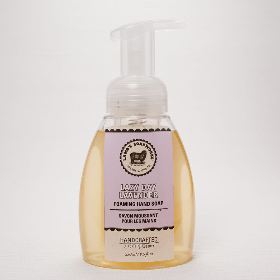 Lavender Moisturizing Foaming Hand Soap