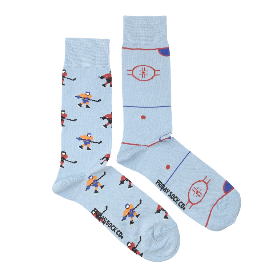 Men's Hockey Player & Rink Socks