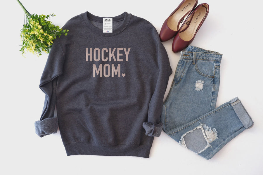 Hockey Mom Crew Sweatshirt