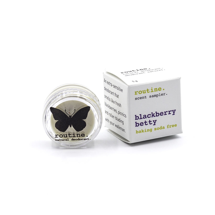 BSF Blackberry Betty Routine Natural Deodorant Mini