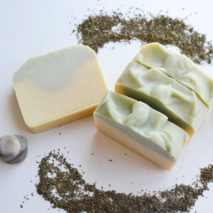 Lemongrass Mint Natural Soap