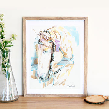 Faithful Brett Heidi Art Print