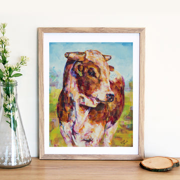 Here's Looking at You Brett Heidi Art Print