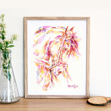 Pretty One Brett Heidi Art Print