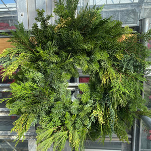 Mixed Green Wreaths