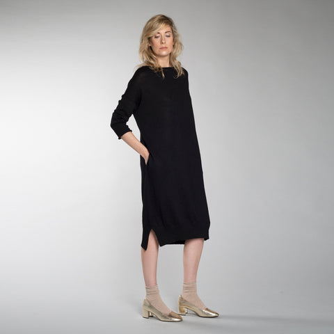 LOUNGE DRESS black