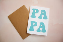 Load image into Gallery viewer, PAPA Father's Day Card