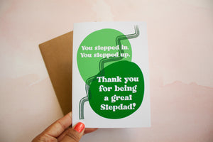 Step Dad Father's Day Card