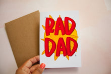 Load image into Gallery viewer, RAD DAD Father's Day Card
