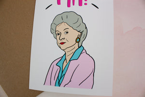 MA! Golden Girls Mother's Day Card