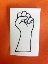 Load image into Gallery viewer, Power Fist Vinyl Decals