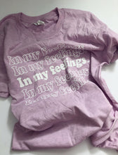 Load image into Gallery viewer, In My Feelings Shirt - Heather Prism Lilac
