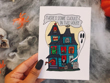 Load image into Gallery viewer, There's Some Ghouls in This House Greeting Card