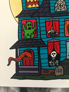 There's Some Ghouls in This House Art Print