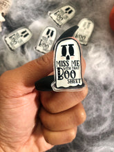 Load image into Gallery viewer, Miss Me with that Boo Sheet Acrylic Pin
