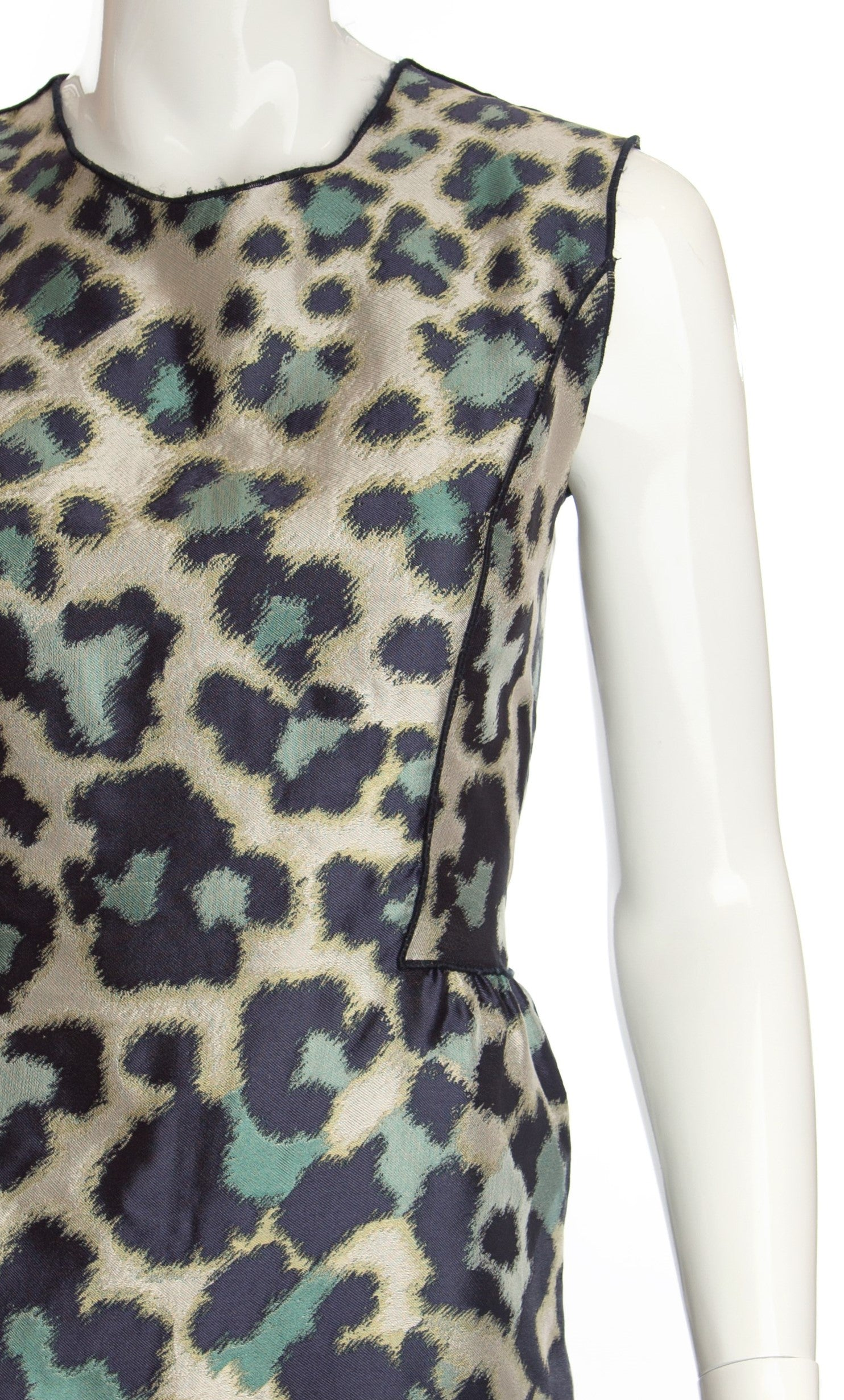 Derek Lam - Animal Print Peplum Top