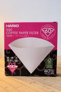 Hario Papierfilter V60 02  40er Packung
