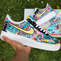 Basquiat Inspired Air Force 1 Low