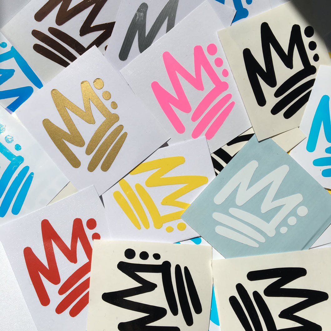 Afro Kickz Decal Stickers Pack