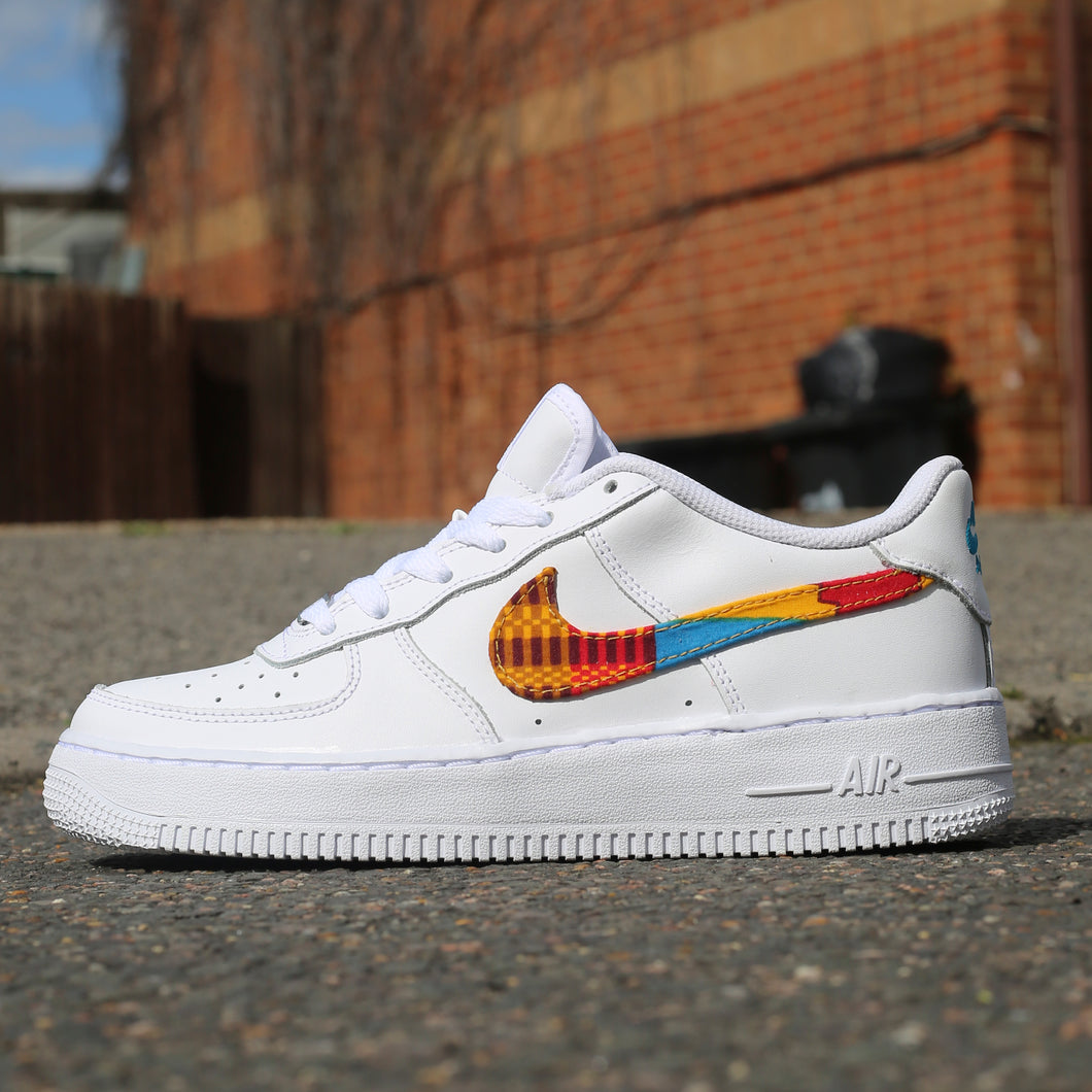 African Print Swoosh Air Force 1 Low
