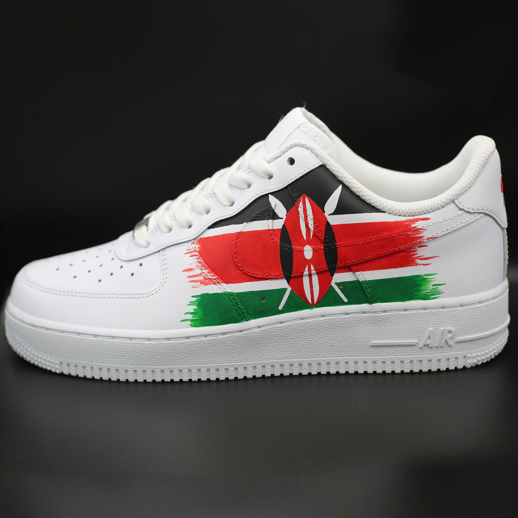 Kenya Flag Air Force 1 Low