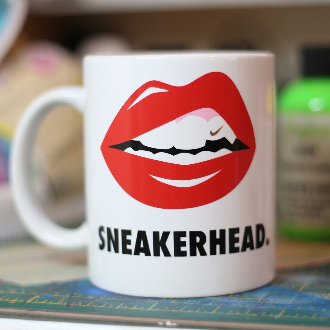 Sneakerhead Lips Mug