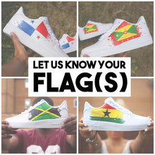 Load image into Gallery viewer, Pick Your Country Flag Air Force 1 Low