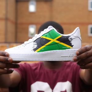 Jamaica Flag Air Force 1 Low