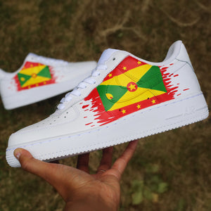 Grenada Flag Air Force 1 Low