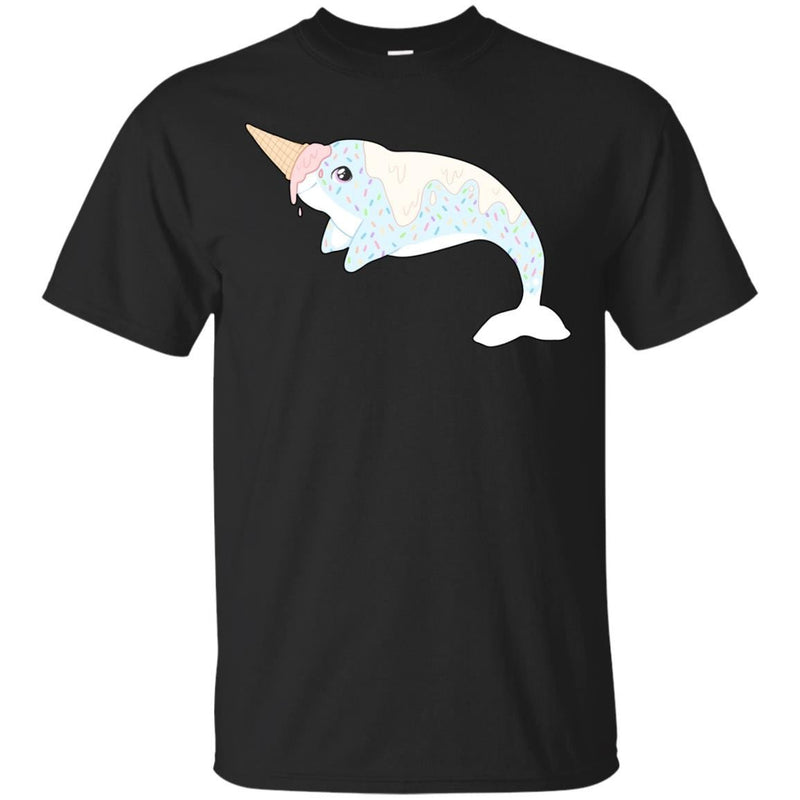 CUTE ANIMALS - Sprinkles the Ice Cream narwhal T Shirt & Hoodie