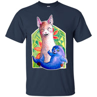 CUTE ANIMALS - Kawaii Alpaca and the Seal of Approval T Shirt & Hoodie