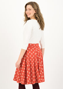 wooden heart circlar skirt