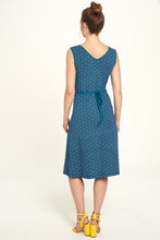 Laden Sie das Bild in den Galerie-Viewer, Jersey-Kleid sundial navy