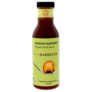 Paunchy Elephant Classic Organic Barbecue Sauce (2 bottles)