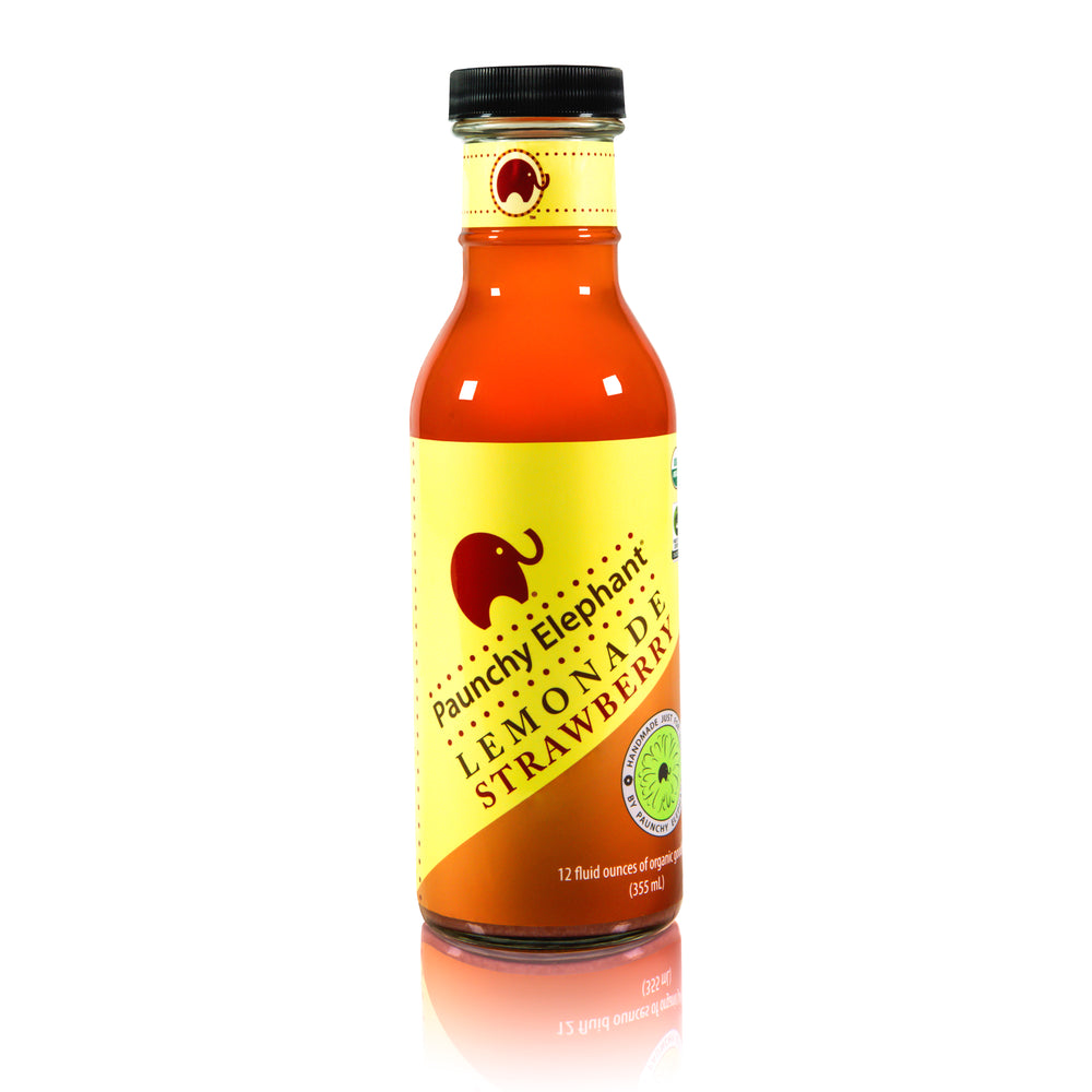 Organic Strawberry Lemonade - Paunchy Elephant