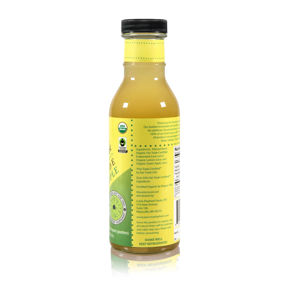 Organic Green Apple Lemonade - Paunchy Elephant