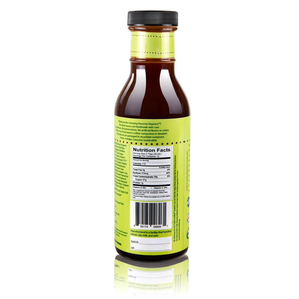 Load image into Gallery viewer, Paunchy Elephant Classic Organic Barbecue Sauce - Paunchy Elephant