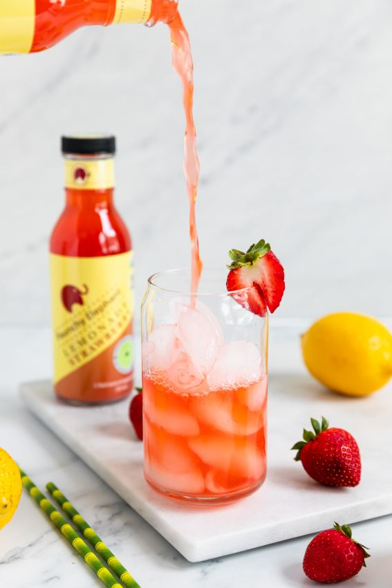Load image into Gallery viewer, Organic Strawberry Lemonade - Paunchy Elephant