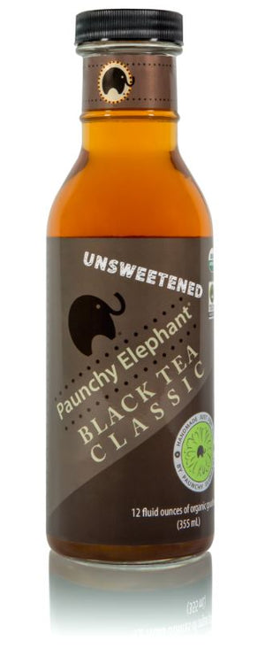 Unsweetened Black Tea - Paunchy Elephant