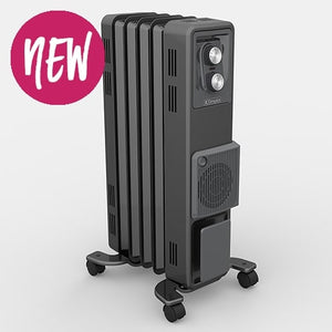 1.5kW Oil Free Column Heater with Turbo Fan