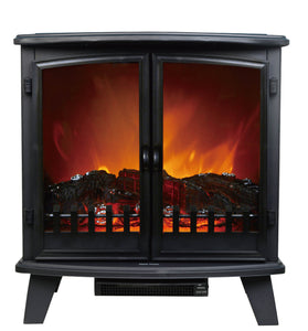 Double Door Fireplace Heater